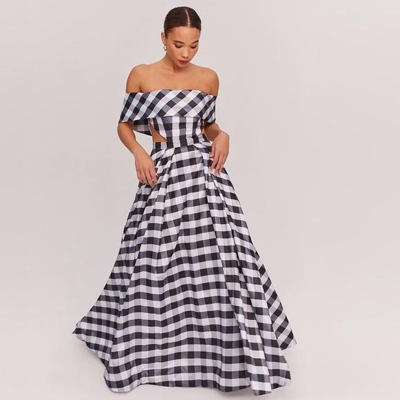 2881391c7 Fame and Partners Dresses & Skirts - Fame & Partners Black white gingham  dress ...